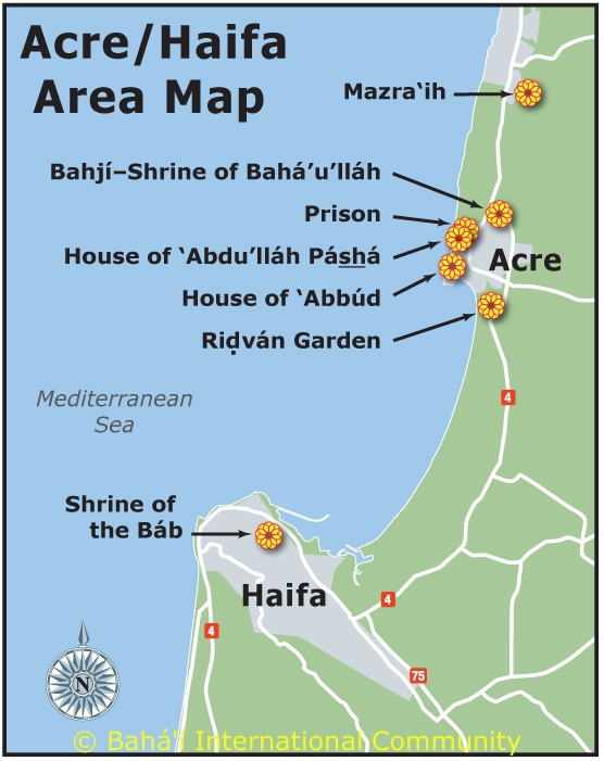 Map of 'Akka and Haifa area