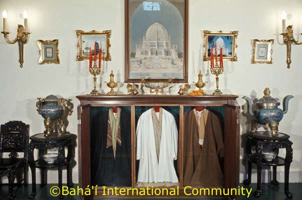 Robes worn by Bahá'u'lláh